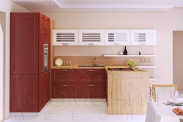 Кухни из массива дуба «Пиано»