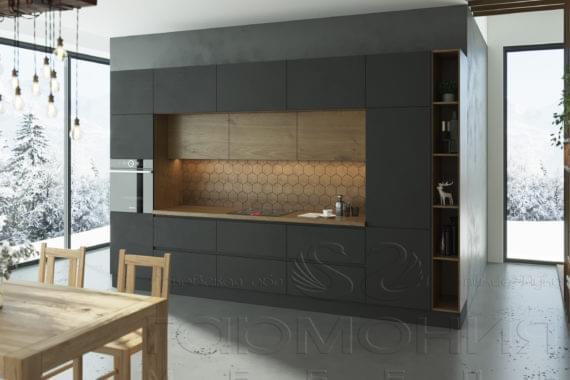 Кухня «Прайм Графит»