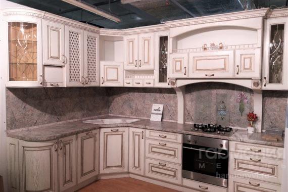 Выставочный образец, кухня из дуба.