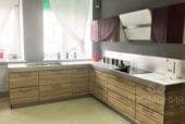 Выставочный образец. Кухня ПЛАСТИК УФ+HPL - изображение 2